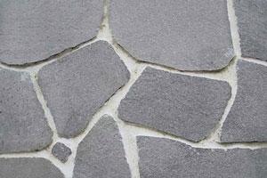 Nepravidelný obklad Polygonálny šedý
